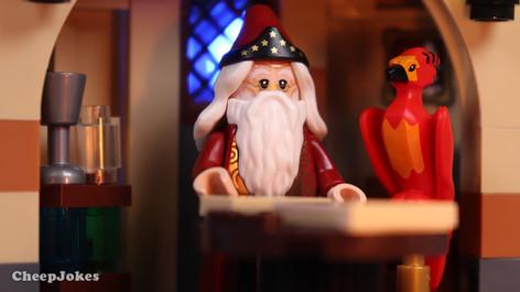 Professor Albus Dumbledore - LEGO CMF Harry Potter Series 2