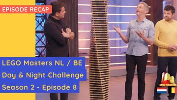 LEGO Belgium/Netherlands - Night & Day Challenge - Semi Finals - S02E08 Recap