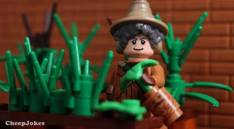 Professor Pomona Sprout - LEGO CMF Harry Potter Series 2
