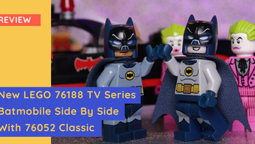 LEGO 76188 - New 1960s Classic Batmobile Vs. The 2016 Release