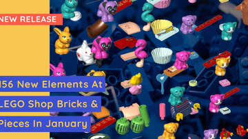LEGO Shop Bricks & Pieces - New Parts For January 2021