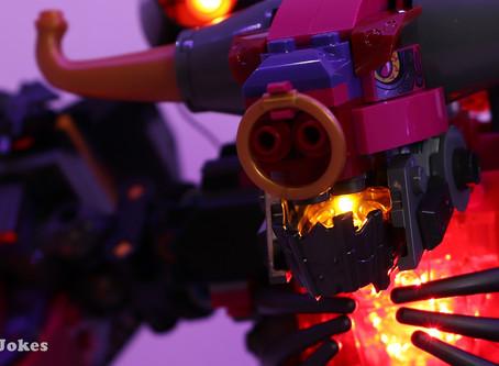 Review: LEGO 80010 Demon Bull King