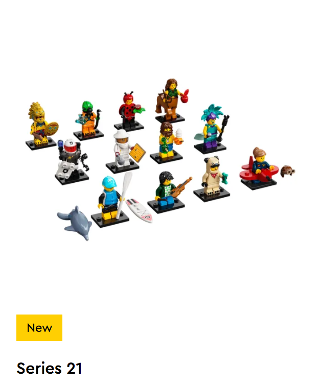 LEGO Collectable Minifigures Series 21 - 71029