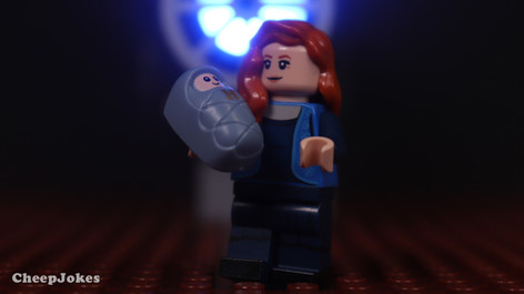 Lily Potter - LEGO CMF Harry Potter Series 2