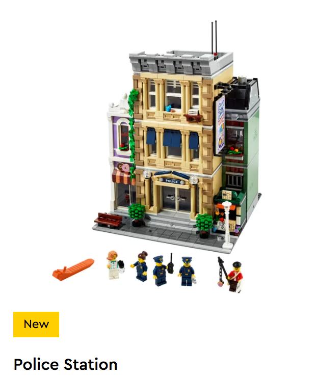 LEGO Creator Expert - 10278 - Police Station