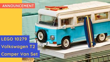 LEGO® 10279 - VOLKSWAGEN T2 CAMPER VAN - New Release!