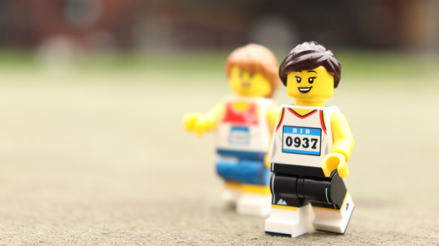 Female Athlete with Discus and Javelin
