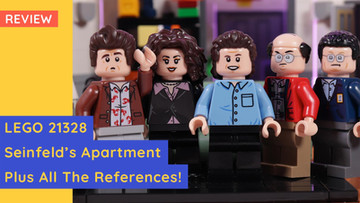LEGO 21328 - Seinfeld's Apartment - It's Real, And It's Spectacular!