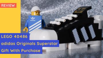 LEGO 40486 - adidas Originals Superstar Gift With Purchase!