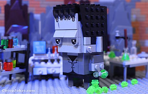 Review: LEGO 40422 Brickheadz #111 (not) Frankenstein