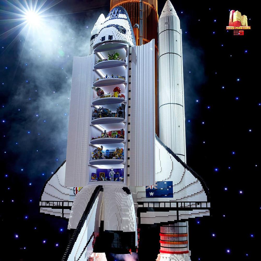 LEGO Masters Australia Season3 - Mission To Mars Challenge