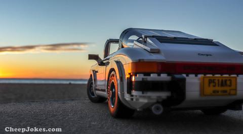 LEGO 10295 – Porsche 911 Targa and 911 Turbo