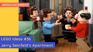New LEGO 21328 - LEGO Ideas #36 - Jerry Seinfeld's Apartment!