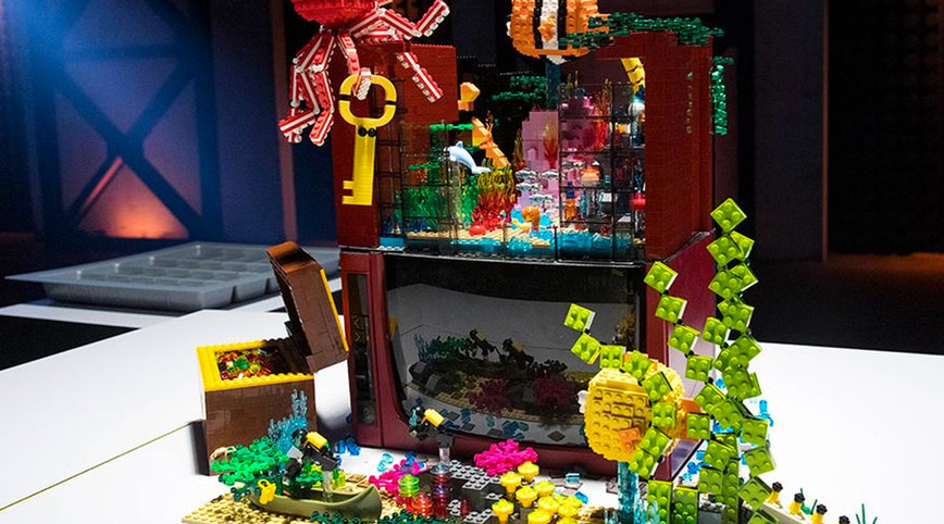 LEGO Masters Australia – Season 1 - Episode 3 – Cut In Half Challenge Gallery