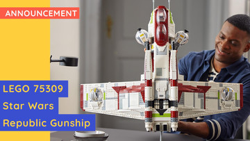 LEGO 75309 - Star Wars Republic Gunship - New Release