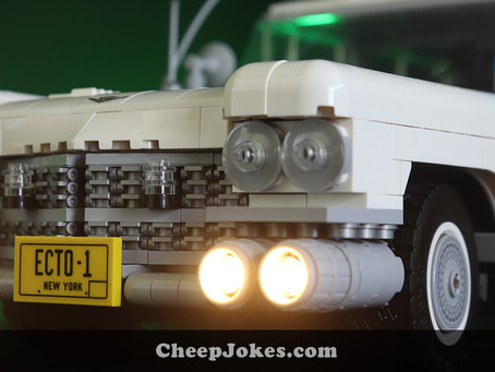 New Release: LEGO 10274 - Ghostbusters ECTO-1