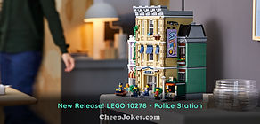 New Release! LEGO 10278 - Police Station