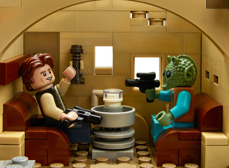 Breaking News: Mos Eisley Cantina from Star Wars is coming! LEGO 75290