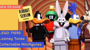 LEGO 71030 - Looney Tunes Collectable Minifigures Are Coming!