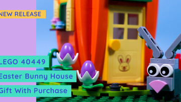 Review: LEGO Easter Bunny House - FREE Gift With Purchase