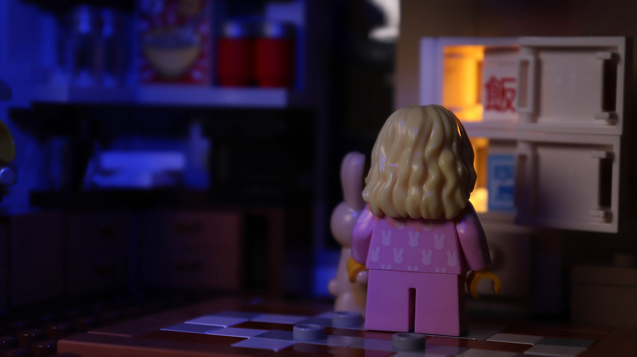 LEGO CMF Series 20 - Girl In Bunny Pyjam