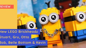 New LEGO 40420 & 40421 Brickheadz - Minions 'The Rise Of Gru' Review
