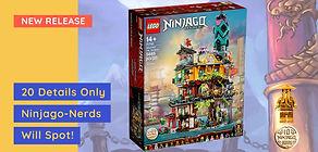 20 Details Only Ninjago-Nerds Will Spot! New LEGO 71741 Ninjago Gardens