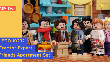 Review: LEGO Creator Expert 10292 Friends Apartment - The One With All The References.