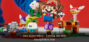 Coming Soon! Power Up A-wa-wa-wa-wa-wa! New Super Mario!