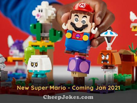 Coming Soon! Power Up A-wa-wa-wa-wa-wa! New Super Mario!