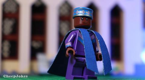 Kingsley Shacklebolt - LEGO CMF Harry Potter Series 2