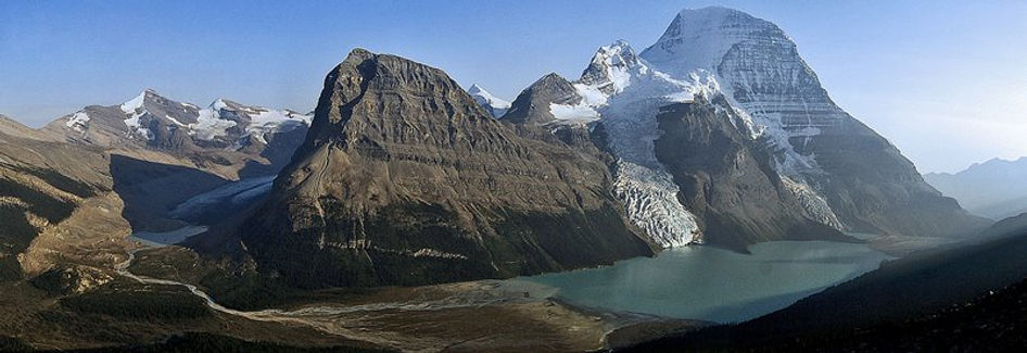 The view we had of Mt Robson
