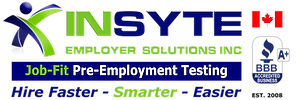 Canadian Job-Fit Pre-Employment Testing & Screening at InSyte Employer Solutions -Shane Dehod