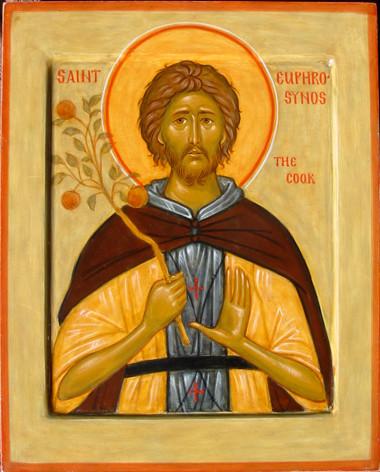 Saint EUPHROSYNOS LE CUISINIER ERMITE