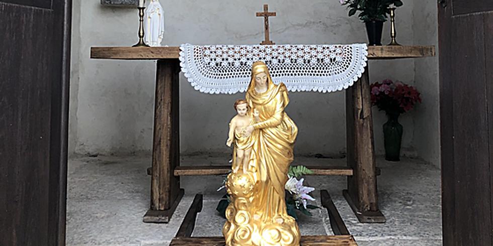 Messe et Procession à Notre Dame des 7 Douleurs à Lugagnac