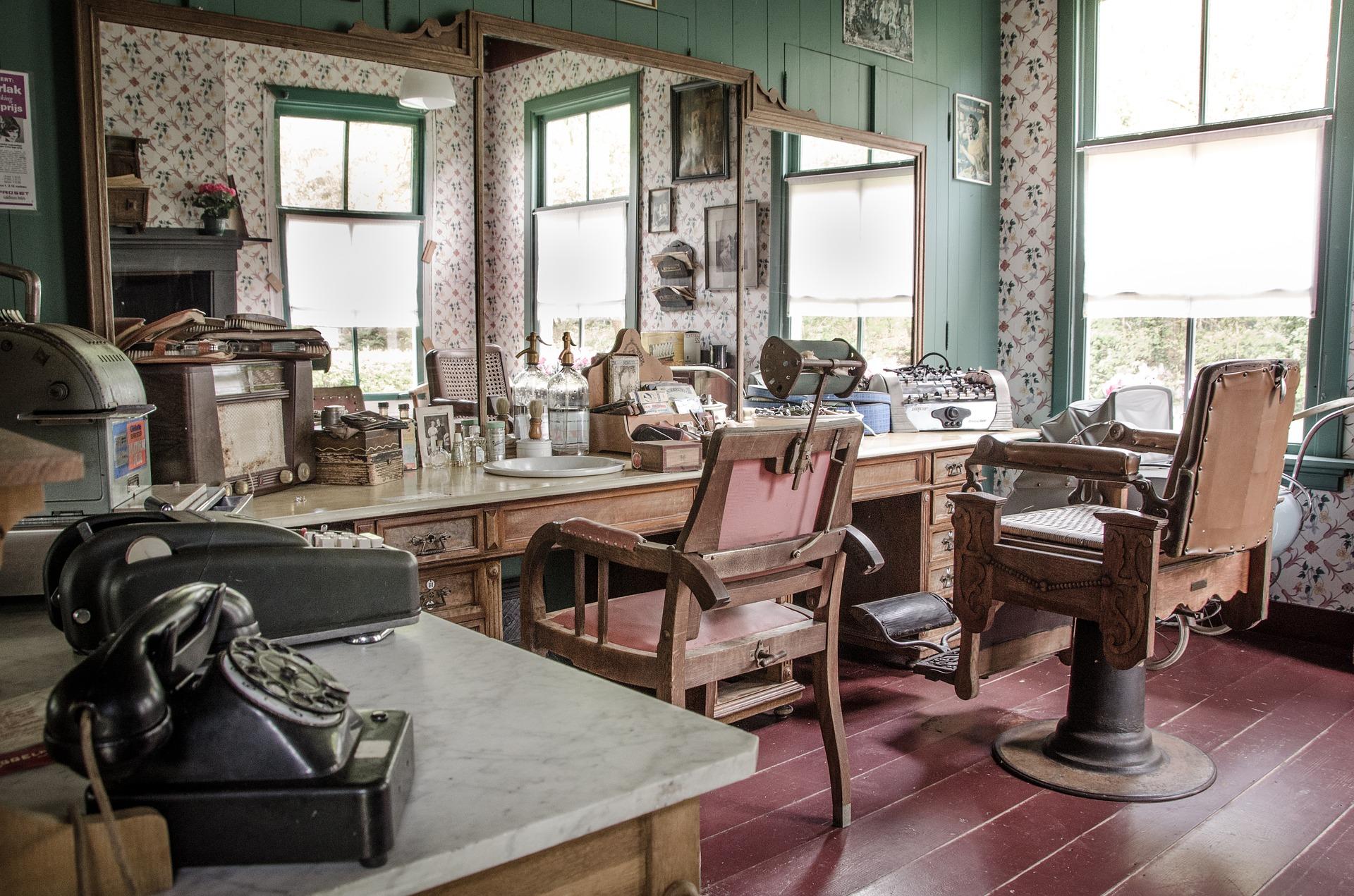 Hair Salons & Barber Shops_3dmellon