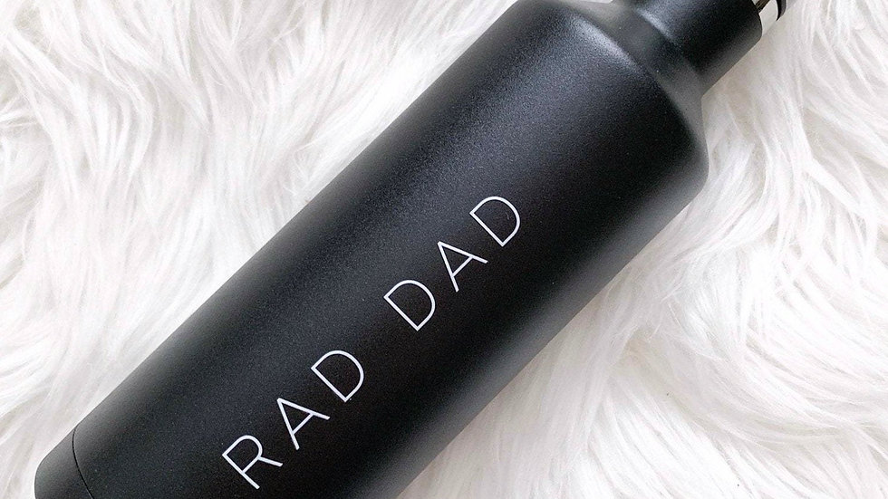 Rad Dad Insulated Water Bottle