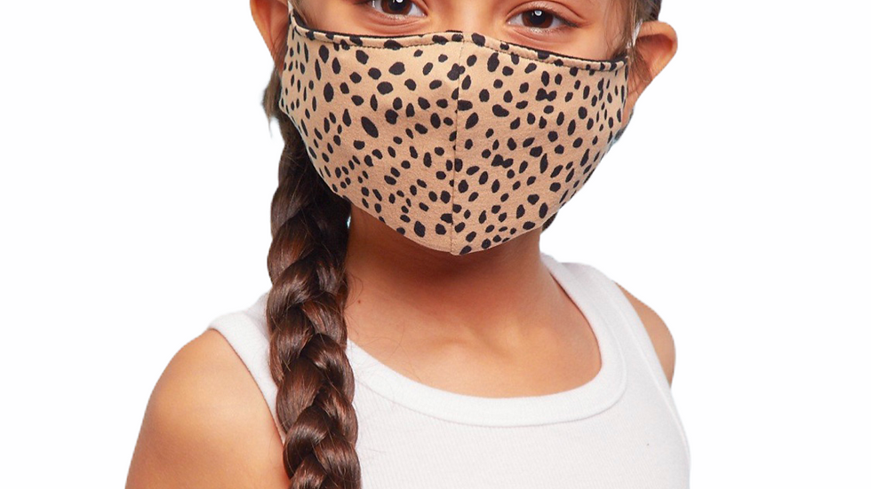 Leopard Kids Mask