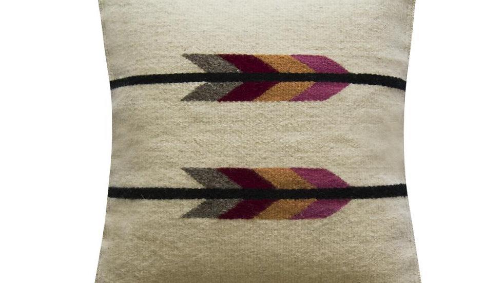 Native American Pillow Cover, Pink Arrow Pillow