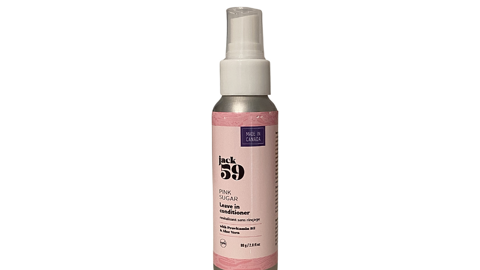 Travel Size Leave In Conditioner - Pink Sugar