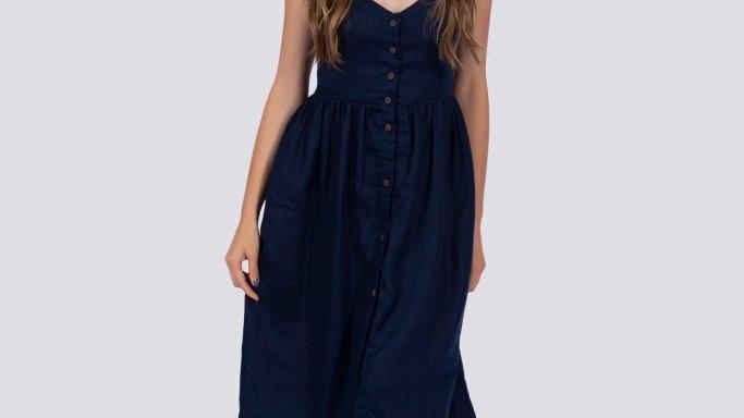 Everly Dress | Navy