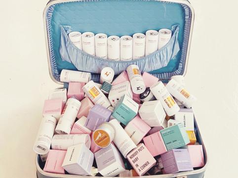 routine. Natural Deodorant