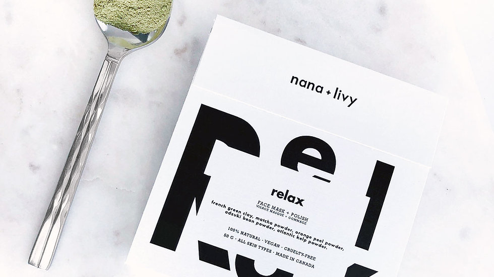 Relax Face Mask + Polish