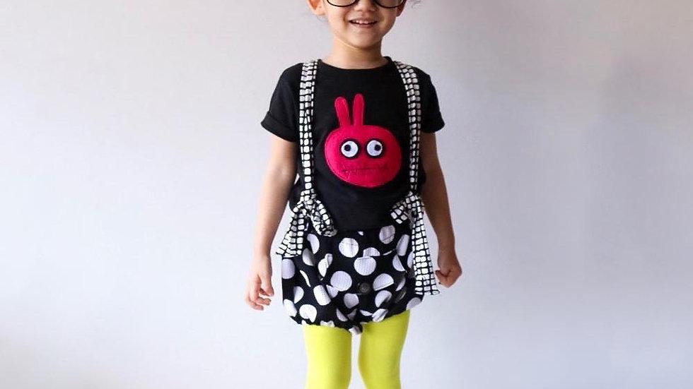 Kids T-shirt - Bunny Monster - mi cielo x Matthew Langille