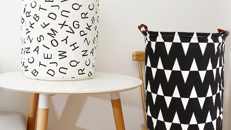 DIDIHOU Foldable Laundry Basket Canvas Storage
