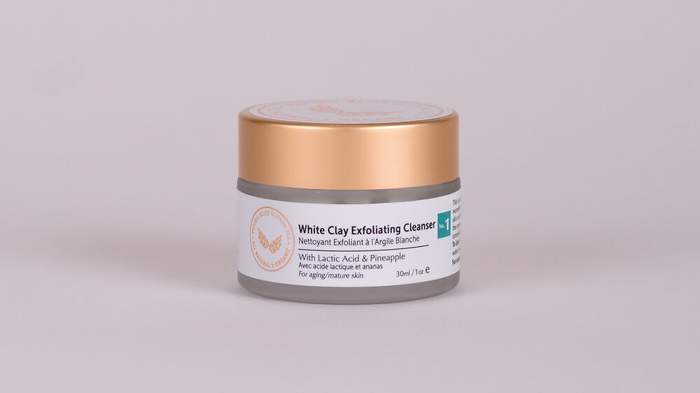 White Clay Exfoliating Cleanser