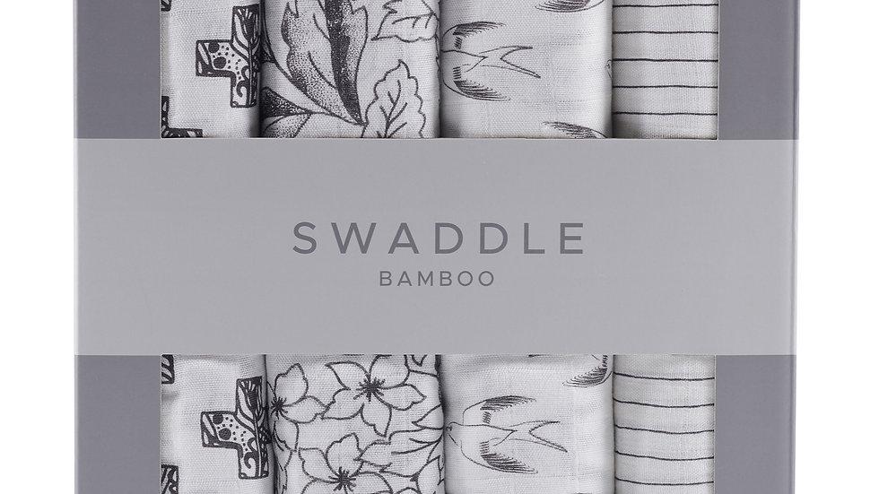 Monochrome Swaddle Four Pack