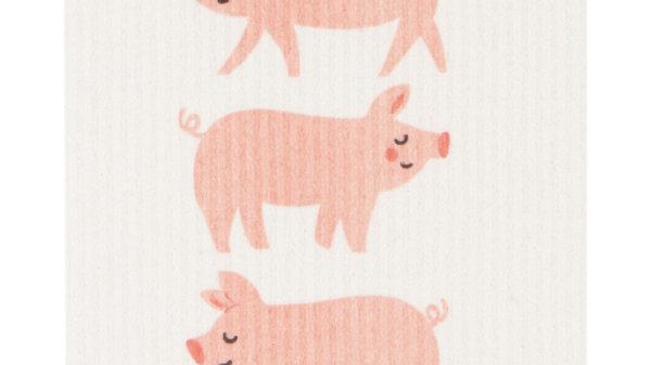 Now Designs Ecologie Swedish Sponge Cloth-Penny Pig