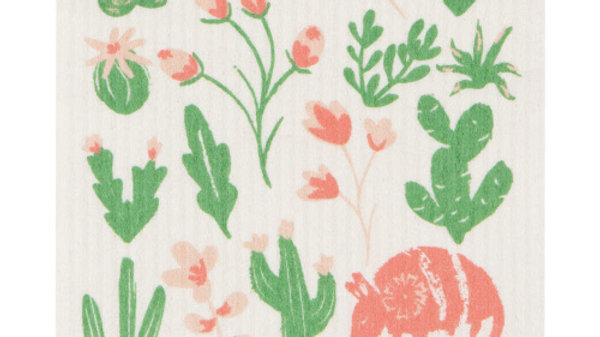 Now Designs Ecologie Swedish Sponge Cloth-Armadillos