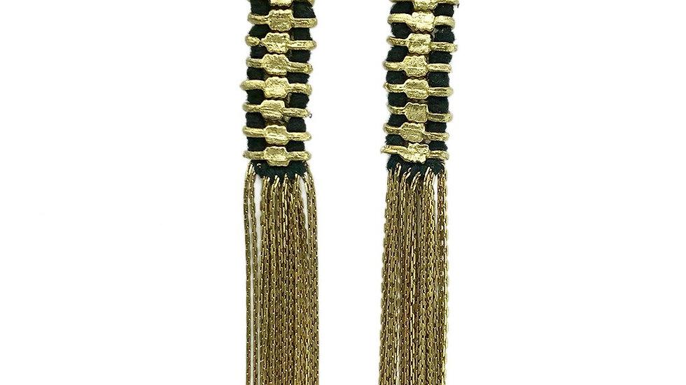 Temple Tassel Earrings